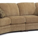 Harrison Fabric Right & Left Conversation Sofas w/out Nails